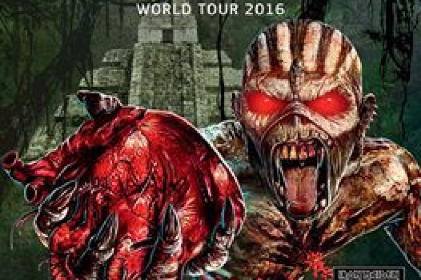 Download Festival 2016 à Paris : Iron Maiden en concert à l'Hippodrome de Longchamp