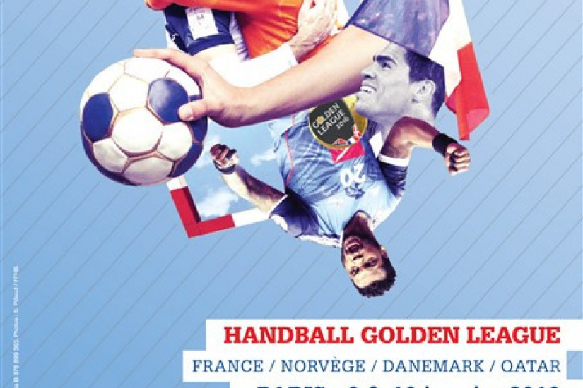 Golden League Masculine 2016 de Handall à l'AccorHotels Arena de Paris