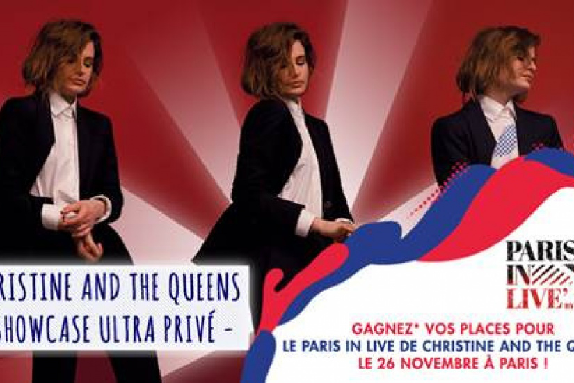 Paris in Live : Christine and the Queens en concert privé à Paris, gagne ta place !
