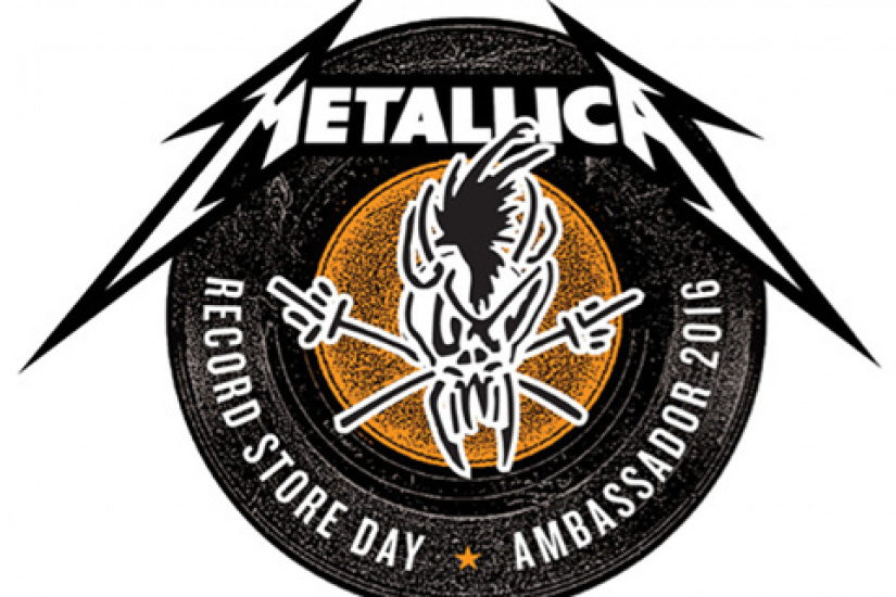 Metallica : Ambassadeur du Record Store Day - Disquaire Day 2016