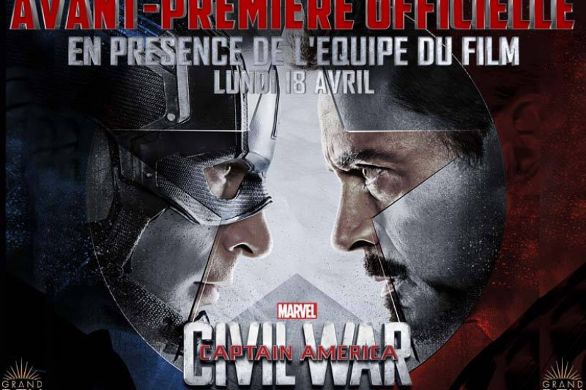 Captain America - Civil War en avant-première officielle au Grand Rex de Paris