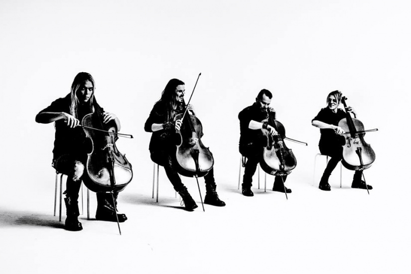 Apocalyptica plays Metallica by Four Cellos au Grand Rex de Paris en 2017