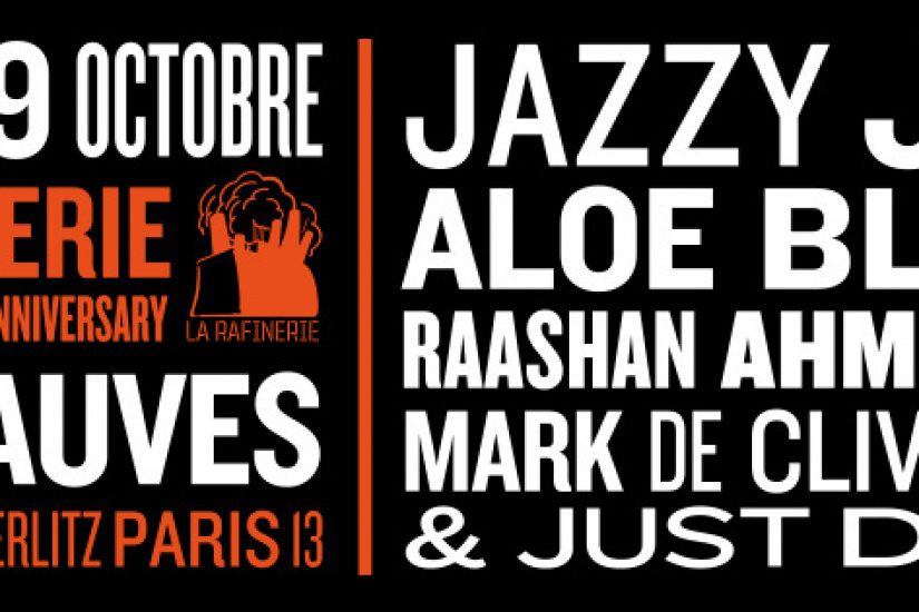 Jazzy Jeff & Aloe Blacc & Raashan Ahmad x MDCL & Just Dizle au Club Nuits Fauves
