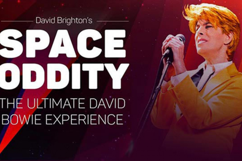 Space Oddity : The Ultimate David Bowie Tribute by David Brighton à La Cigale de Paris