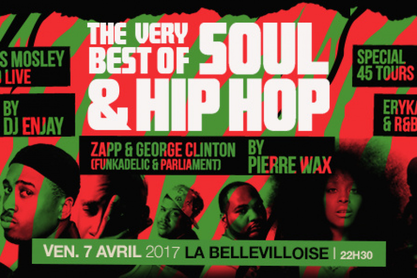 Free Your Funk : The Very Best Of Soul & Hip Hop à La Bellevilloise