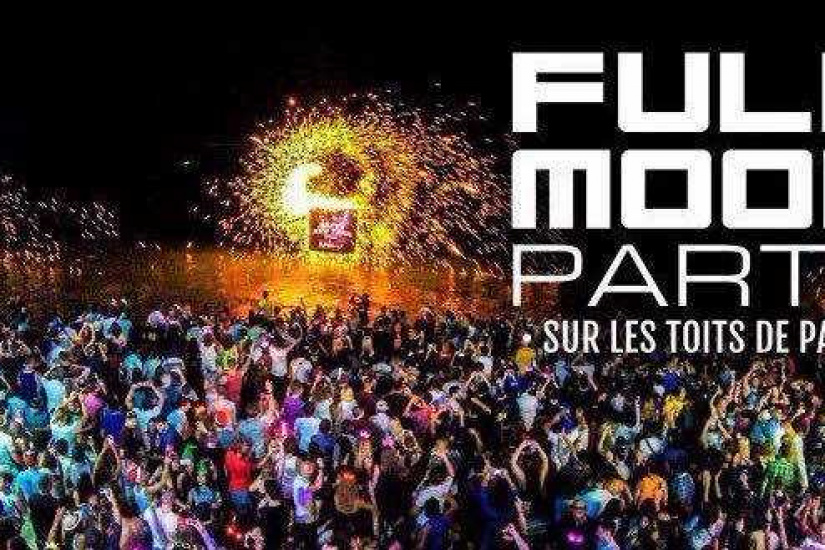 Full Moon Party sur les toits de Paris