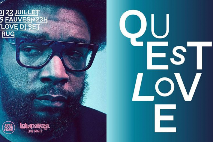Free Your Funk au Club Nuits Fauves : Questlove (The Roots) is back