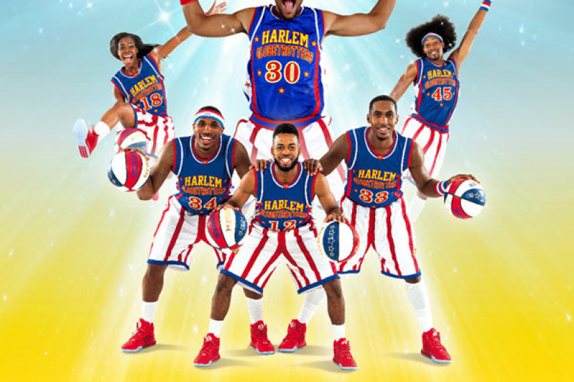 The Harlem Globetrotters are back in Paris Arena Bercy in March 2018 ...