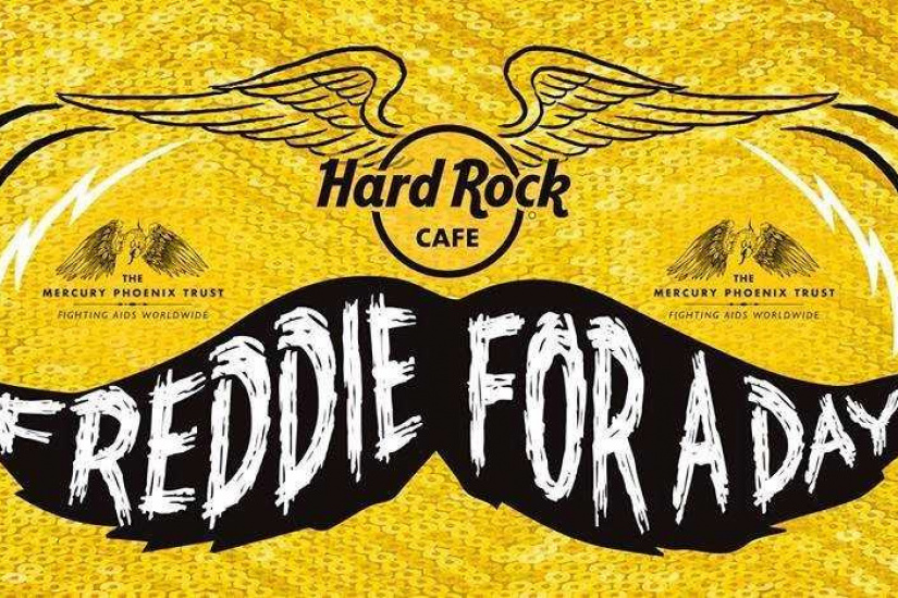 « Freddie For A Day » 2017 au Hard Rock Cafe Paris