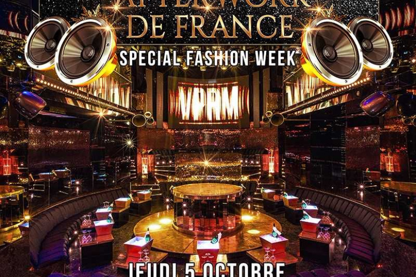 Afterwork Fashion Week au VIP Room
