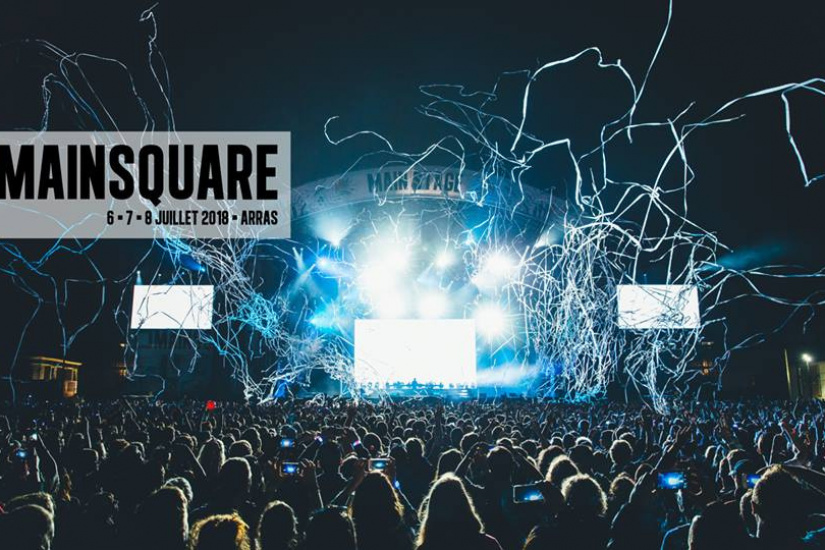 Main Square Festival 2018 à Arras : dates, programmation et réservations