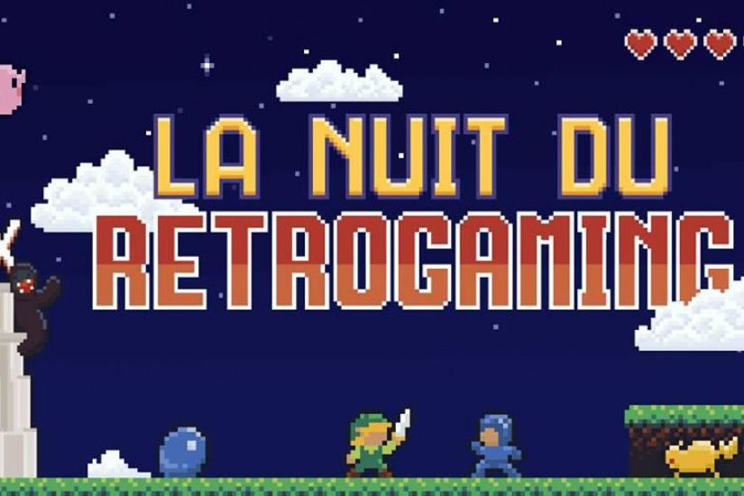 La Nuit du Rétrogaming 2018 au Grand Rex de Paris