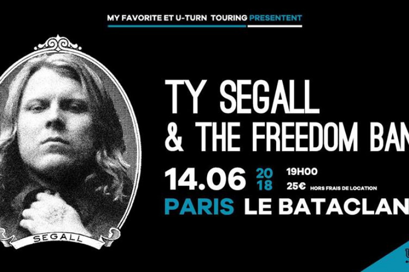 Ty Segall & The Freedom Band en concert au Bataclan de Paris en juin 2018