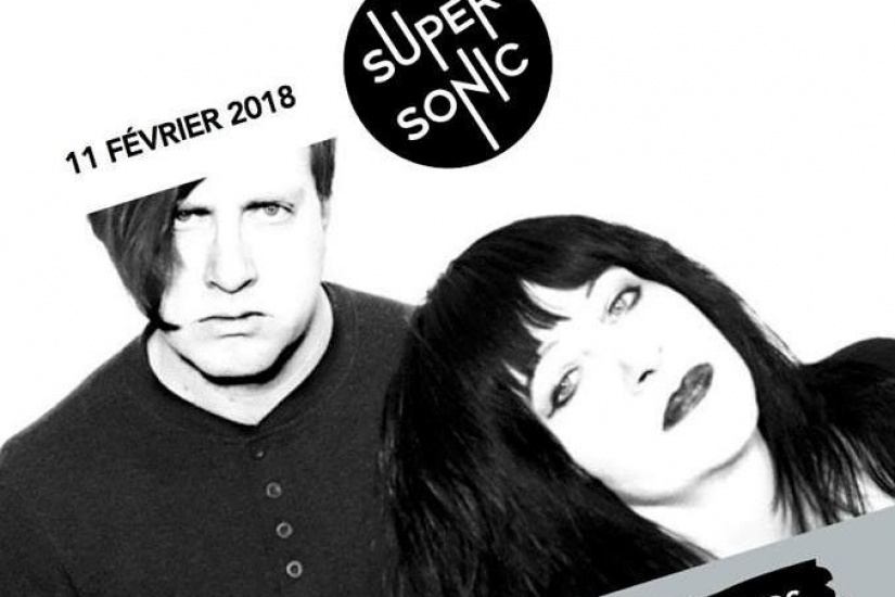 Lydia Lunch & Weasel Walter en concert au Supersonic