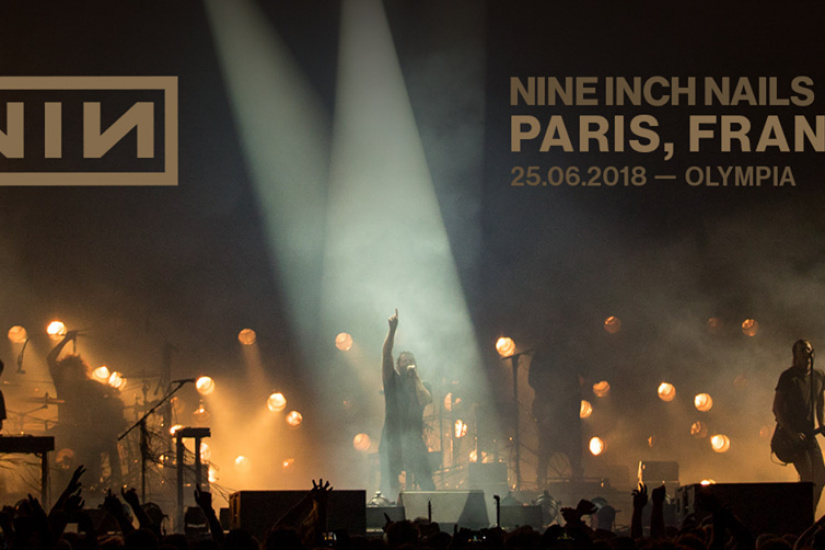 Nine Inch Nails live at Paris Olympia in June 2018 - Sortiraparis.com