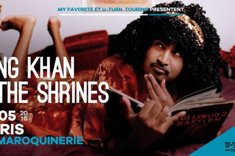 King Khan & The Shrines en concert à La Maroquinerie de Paris en mai 2018