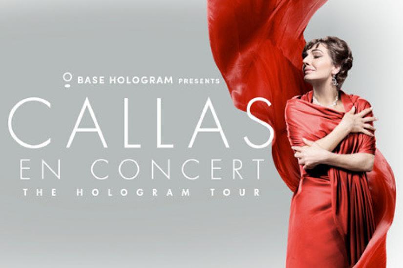 Maria callas en concert the hologram tour la salle for Salon a paris en novembre