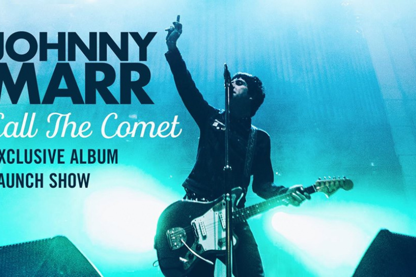 Johnny Marr en concert à La Gaîté Lyrique de Paris en mai 2018