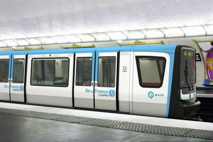 Les rames du métro devraient bientôt changer de couleur — Paris