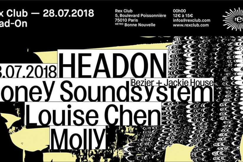 Headon au Rex Club avec Honey Soundsystem