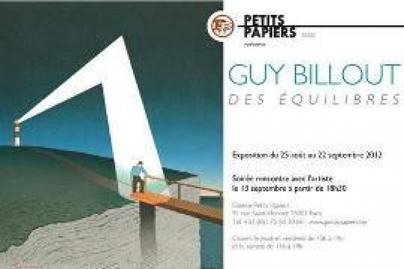 Guy Billout Equilibres