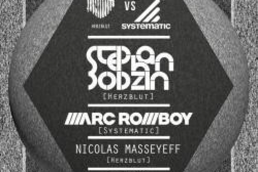 Herzblut VS Systematic au Showcase avec Stephan Bodzin et Marc Romboy