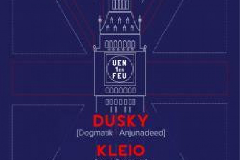 Paris-London Express au Showcase avec Dusky et Kleio