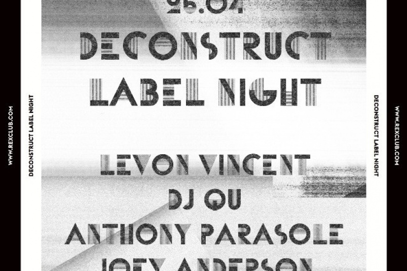 Rex Club « 25 years » : Deconstruct Night avec Levon Vincent