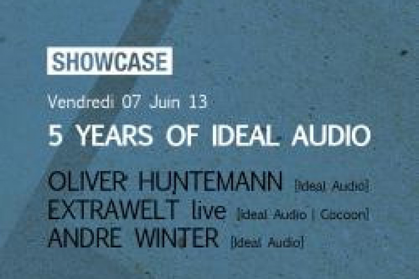 5 Years of Ideal Audio au Showcase avec Oliver Huntemann
