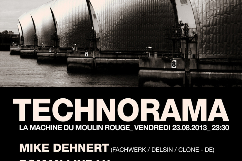 Technorama à la Machine du Moulin Rouge : Fachwerk Label Night