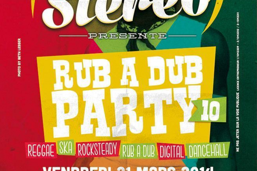 Soul Stereo - Rub A Dub Party #10