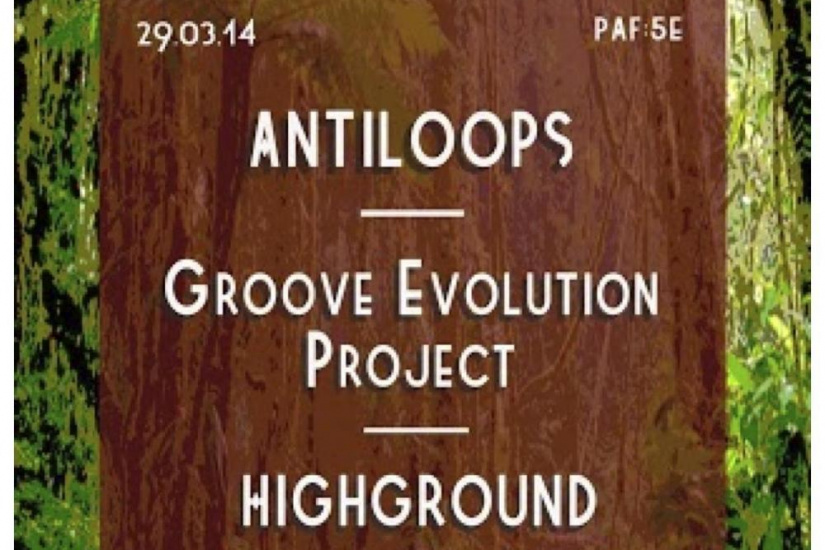 Cacofonix #27 ANTILOOPS/Highground/Groove Evolution Project