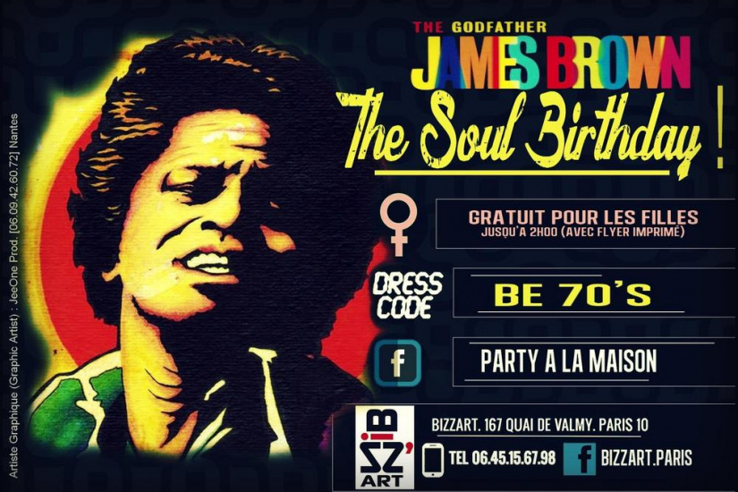 The Soul Birthday Special James Guest Mauricio@Rock Steady Crew