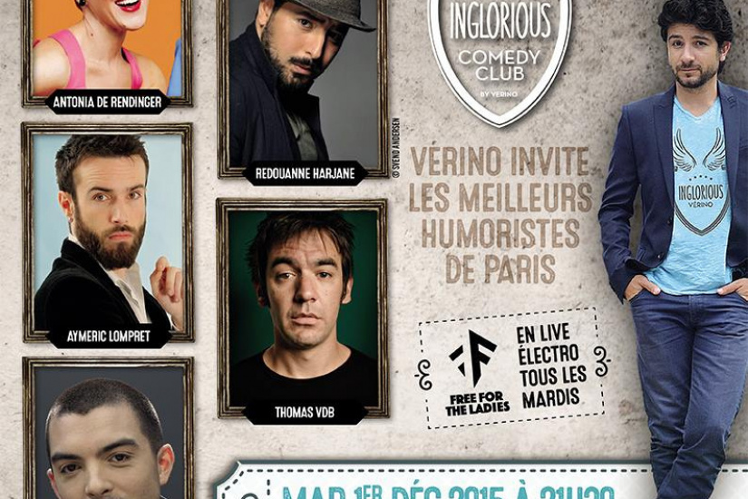 Inglorious Comedy Club au Grand Point Virgule : on vous raconte