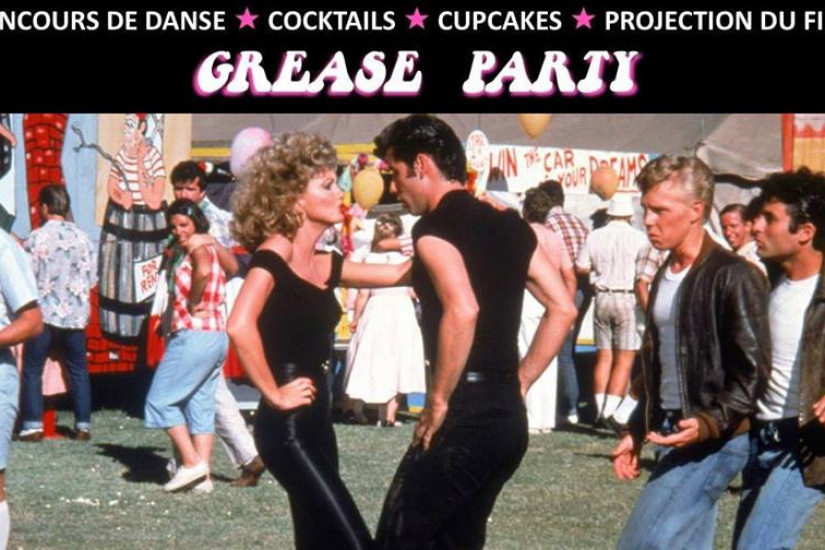 Grease Party à l'UGC Paris 19ème