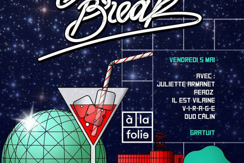 Brain magazine fête le Spring Break à La Folie