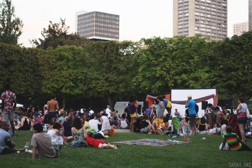 Cinewax Outdoors au parc de Choisy : ateliers, food et cinéma