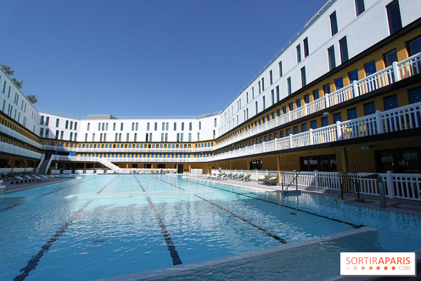 Molitor piscine h tel restaurant rooftop et spa - Piscine bassin exterieur paris argenteuil ...