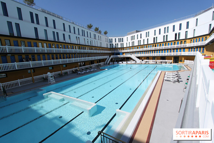 Molitor piscine h tel restaurant rooftop et spa for Piscine hotel paris