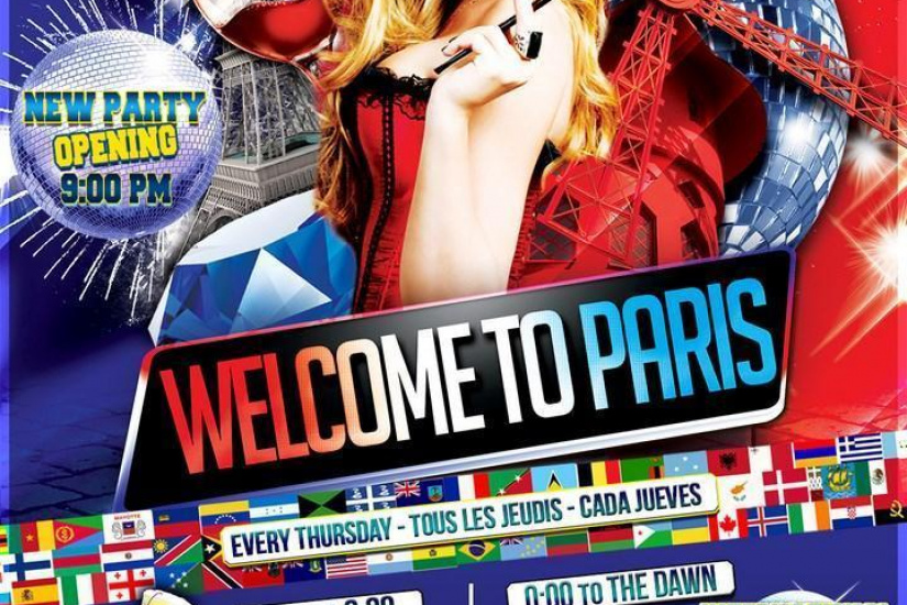 International Pub Party - Welcome to Paris