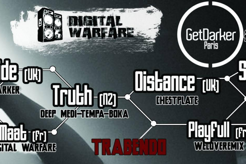 Digital Warfare presents : GetDarker PARIS part 2