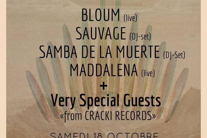 WE'RE THE TRIBE 2 - SPECIAL MADDALENA RELEASE PARTY W/ ISAAC DELUSION, SAMBA DE LA MUERTE, MADDALENA, BLOUM ET SAUVAGE