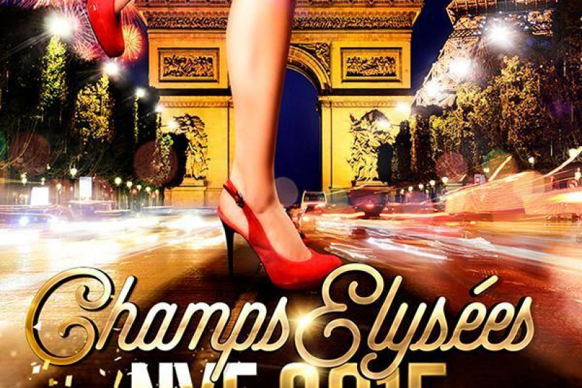 « CHAMPS-ELYSEES » New Year's Eve 2015