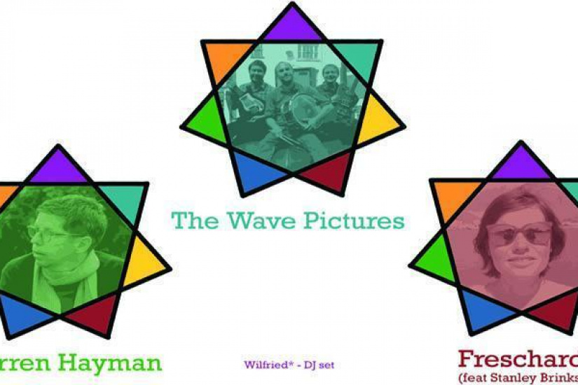 THE WAVE PICTURES + DARREN HAYMAN + FRESCHARD feat STANLEY BRINKS + WILFRIED* dj set