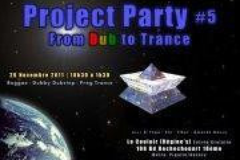Project party #5: From Dub To Trance