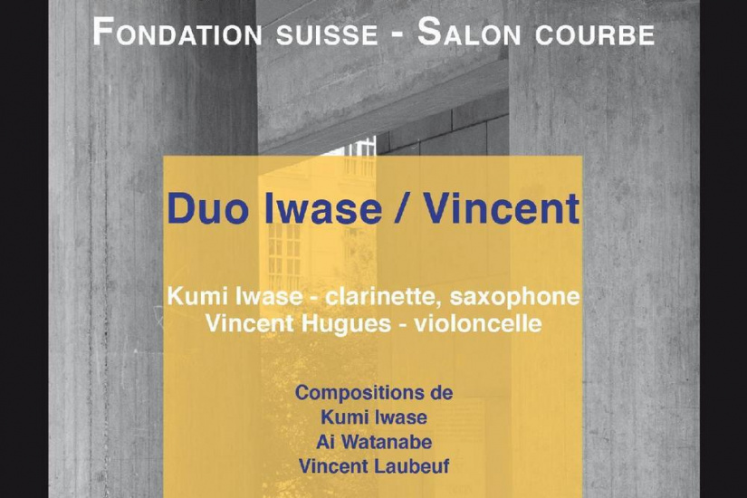 Duo Iwase/Vincent - Cycle de musique contemporaine