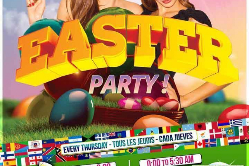 Erasmus Paris : Easter Party