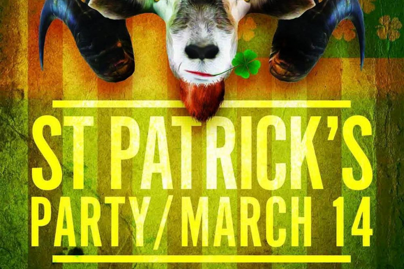 St Patrick's day 2015 in Paris