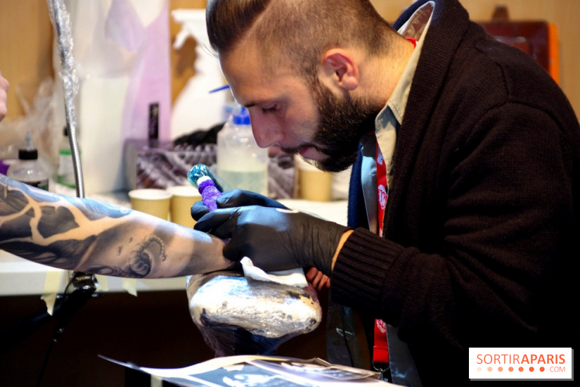 Le Mondial Du Tatouage 2015 à Paris