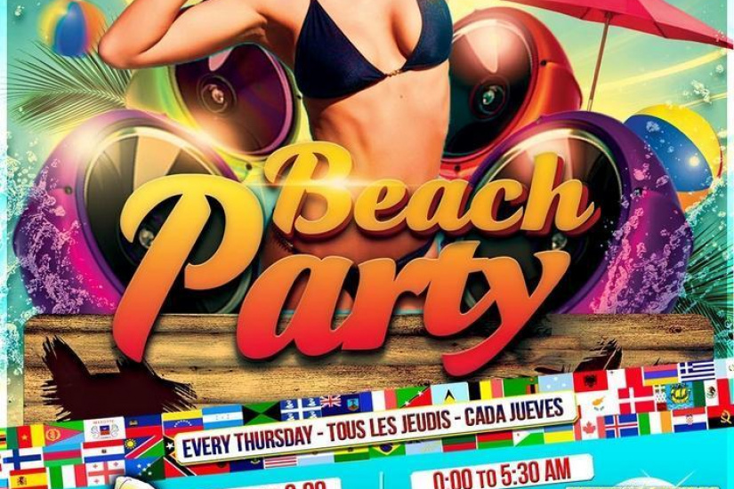International Student Party : Beach Party